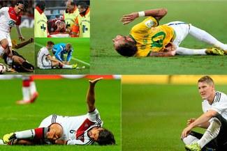 Rusia 2018: Recuento de cracks que se perdieron el Mundial por lesiones [FOTOS]