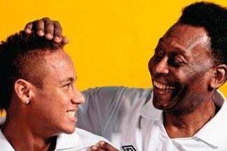 """Pelé: """"Confío en Neymar como Campeón del Mundo pero el fútbol siempre da sorpresas"""""""