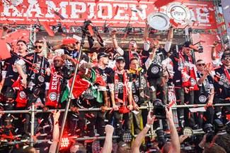PSV: Celebraciones por el campeonato holandés paralizaron toda la ciudad de Eindhoven [VIDEO]