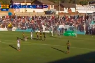 Alianza Lima vs. UTC: Aldair Fuentes se falló un gol cantado ante los cajamarquinos