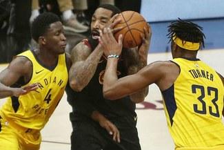 Cleveland Cavaliers vence 100-97 a los Pacers e iguala la serie en playoffs de NBA