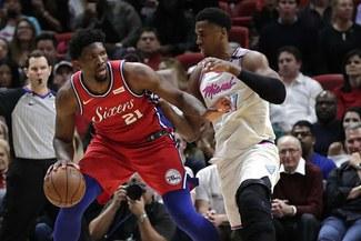 Sixers vencieron a los Miami Heat por el juego 3 de los Playoffs NBA
