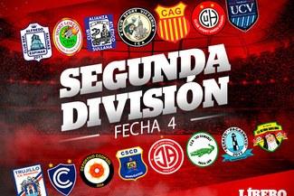 Segunda División: resultados y tabla de posiciones tras jugarse la fecha 4