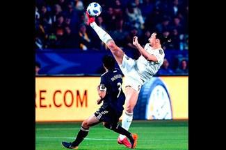 Zlatan Ibrahimovic y su jugada de artes marciales de la que se habla en la MLS [VIDEO]