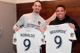 Zlatan Ibrahimovic y el 'Fenómeno' Ronaldo se juntaron en Estados Unidos [FOTOS]