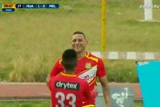 ¡A un paso de la final! El golazo de Carlos Neumann para el 1-0 de Sport Huancayo ante Melgar
