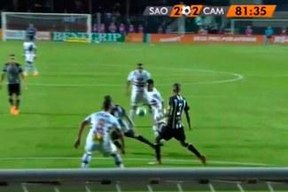 Christian Cueva dio una genial asistencia para el empate de São Paulo [VIDEO]