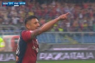 ¡SORPRENDENTE! Gianluca Lapadula anotó un gol en solo un minuto en la cancha [VIDEO]