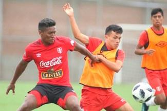 Selección Peruana jugó amistoso con la Sub-20 con miras a Rusia