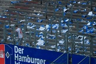 La brutal portada que le dedicó un diario alemán al Hamburgo por su primer descenso