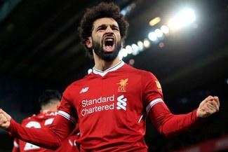 Mohamed Salah superó a Cristiano Ronaldo y Luis Suárez en la Premier League