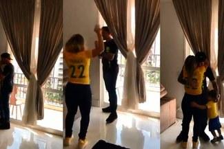 ¡FELICIDAD TOTAL! Fágner fue convocado por Brasil para Rusia 2018 y la emoción se apoderó de su familia [VIDEO]