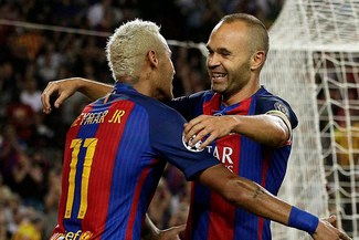 Iniesta habló del posible fichaje de Neymar a Real Madrid