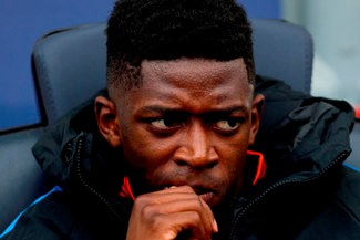 Ousmane Dembélé 'coquetea' con el PSG de Thomas Tuchel