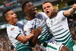 Santos Laguna derrotó 2-1 al Toluca por la final-ida de la Liga MX [RESUMEN Y GOLES]