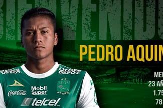 ¿Con qué figuras jugará Pedro Aquino en Club León?
