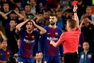 Barcelona irá al TAD para anular la sanción de Sergi Roberto