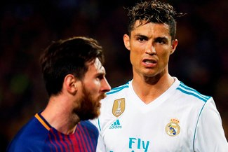 Rivaldo causa polémica al hablar de Leo Messi y Cristiano Ronaldo