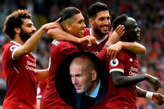 Champions: 'Zizou' reconoció que deben preocuparse del tridente ofensivo del Liverpool
