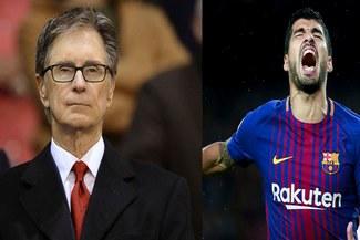 Propietario de Liverpool aseguró que Suarez verá de la Champions por televisión