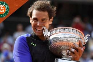 Conoce los cruces del cuadro masculino del Roland Garros 2018