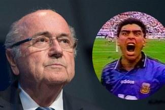 """Blatter: """"Recuerdo la reacción de Grondona en el doping de Maradona en el 94"""" [VÍDEO]"""