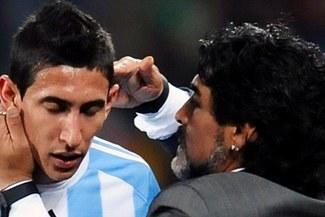 ¡DURAS PALABRAS! Diego Maradona arremetió contra Ángel Di María y su compromiso [VIDEO]