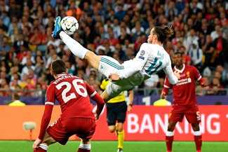 Gareth Bale hizo explotar el Santiago Bernabéu con su golazo de 'chalaca' [VIDEO]