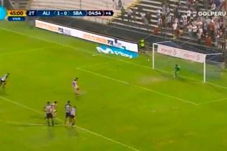 ¡SALVADOR! Leao Butrón atajó un penal en el último minuto y salvó a Alianza Lima [VIDEO]