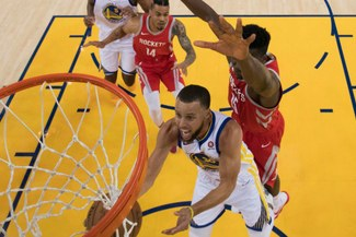 Warriors campeones del Oeste y rumbo a la final de la NBA tras vencer 101-92 a Houston Rockets [VIDEO]