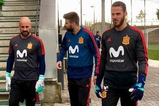 ¡MISIÓN RUSIA! La Selección de España inició su preparación para el Mundial [FOTOS]