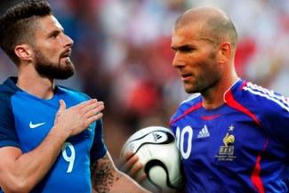 ¡MOTIVADO! Olivier Giroud igualó a Zinedine Zidane en la tabla de goleo de Francia [FOTO]