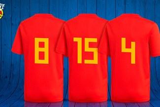 España reveló los dorsales para el amistoso ante Suiza ¿Un preludio para el Mundial?