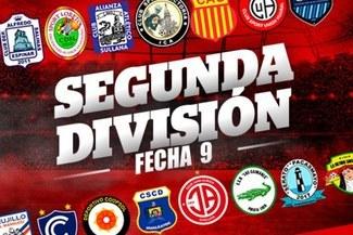 Segunda División: Tabla de Posiciones y resultados tras la fecha 9