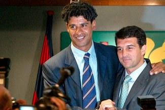 """""""Rijkaard le dijo a Laporta que el Barcelona no era un grande como el Real Madrid"""""""