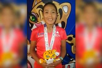 """Inés Melchor tras ganar medalla de oro en ODESUR: """"Siempre trato de dejar el nombre del Perú en alto"""" [VIDEO]"""