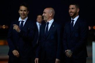 La Selección de España llegó a Moscú y alista su debut en Rusia 2018 [FOTOS]