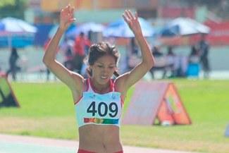 Rina Cjuro obtuvo medalla de oro para Perú en los Juegos Sudamericanos de Cochabamba