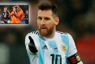 ¡QUE SE CUIDE! Lovren amenaza a Messi con una patada criminal al estilo de Nigel de Jong [VIDEO]