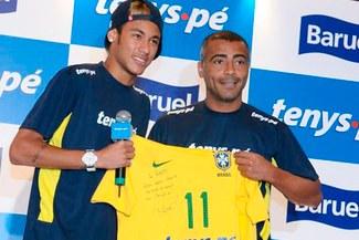 Romario feliz con récord de Neymar y asegura que seguirá batiendo marcas