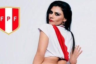 Instagram: Claudia Abusada derrochó sensualidad alentando a la 'Bicolor' [FOTO]