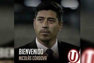 Universitario presentó a Nicolás Córdova como su flamante técnico para lo que resta de temporada