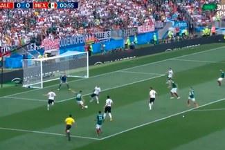 México vs. Alemania: Chucky Lozano casi sorprende a Neuer al minuto de juego [VIDEO]