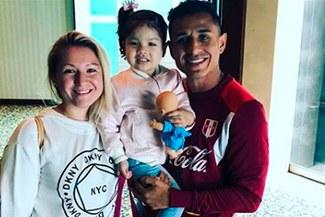 Yoshimar Yotún fue padre por segunda vez y compartió su alegría a través de Instagram