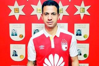 Diego Guastavino, exjugador de Universitario, es nuevo fichaje del Santa Fe de Colombia