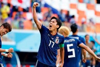 Hesebe el capitán de la selección japonesa de madre peruana