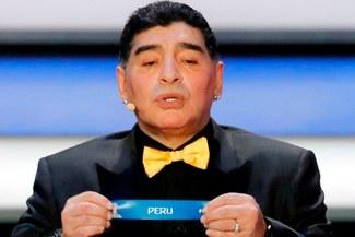 """Maradona sobre Perú: """"Si el partido ante Dinamarca se repite, elegiría a Perú como el ganador"""""""