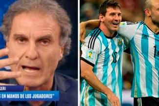 El contundente mensaje de Oscar Ruggeri a los jugadores de la Selección Argentina [VIDEO]