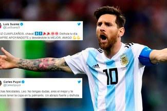 Lionel Messi de cumpleaños: amigos de la 'Pulga' le dedicaron emotivos mensajes