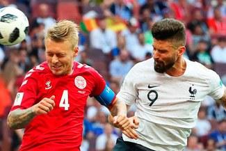 Francia empató 0-0 con Dinamarca en un partido decepcionante [RESUMEN Y VIDEOS]